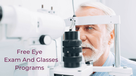 free eye exam and glasses programs