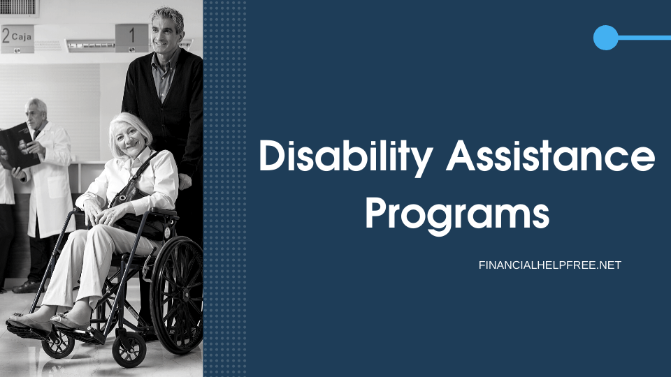 Disability Assistance Programs
