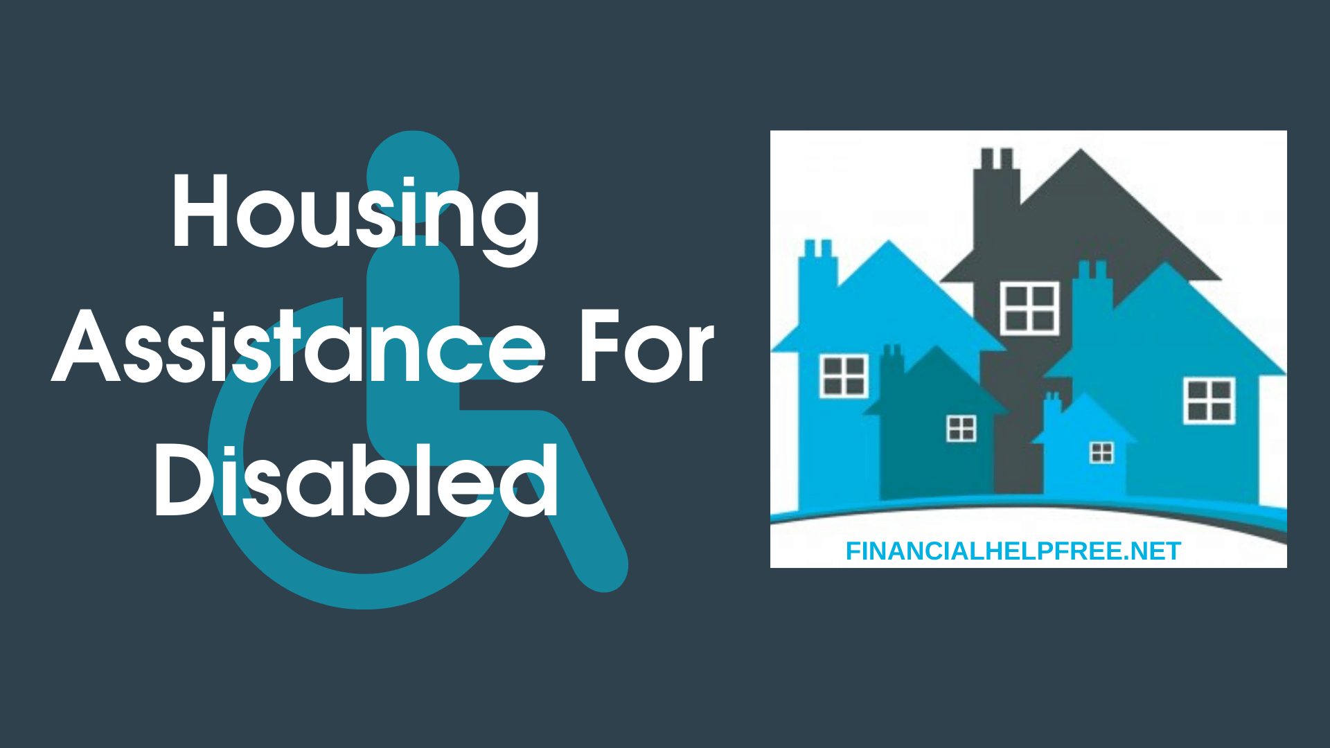 Housing Assistance For Disabled