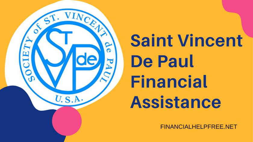 Saint Vincent De Paul Financial Assistance