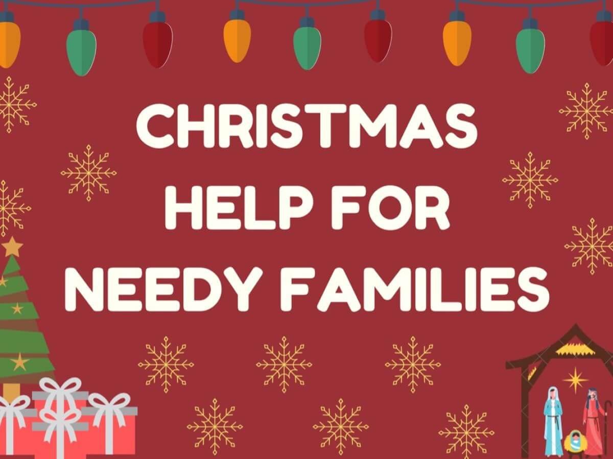 christmas help for needy family