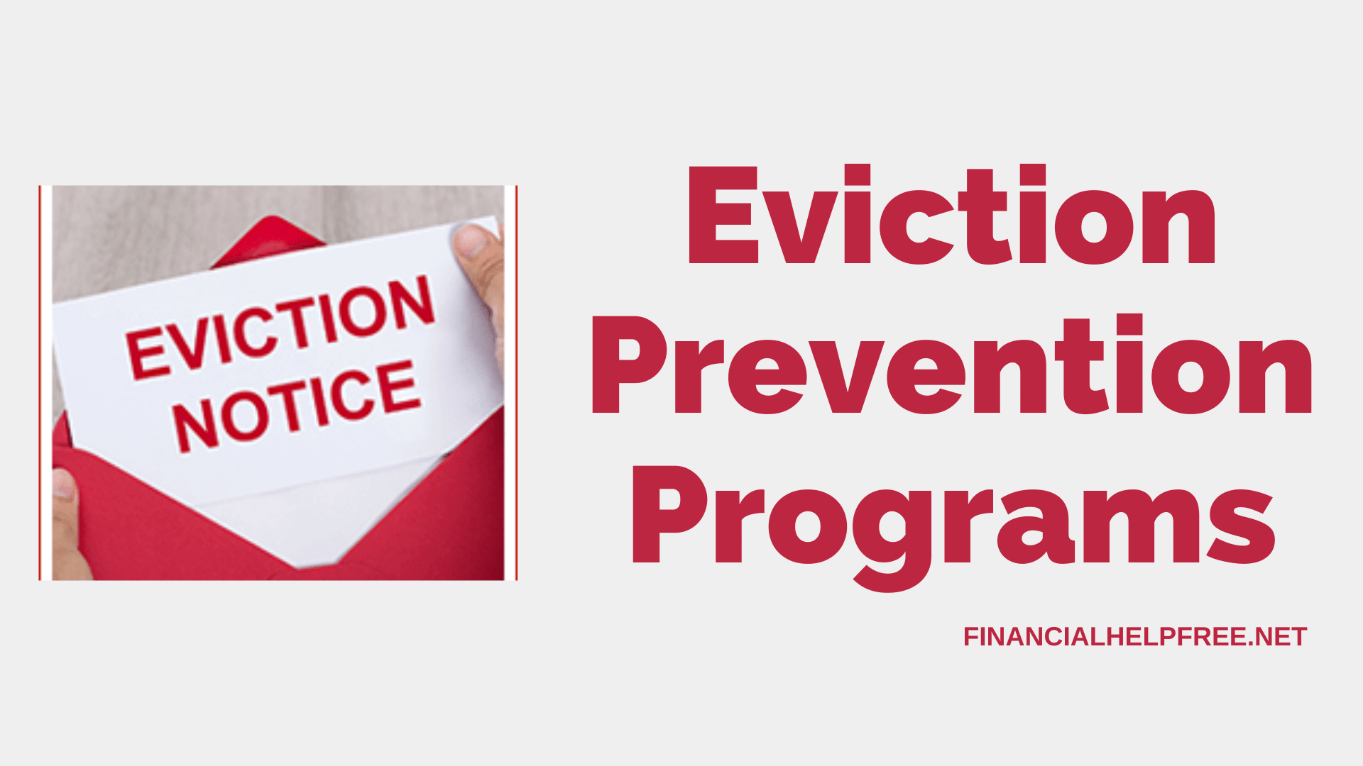 eviction prevention programs