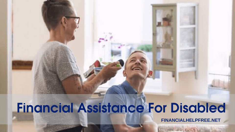 financial assistance for disabled
