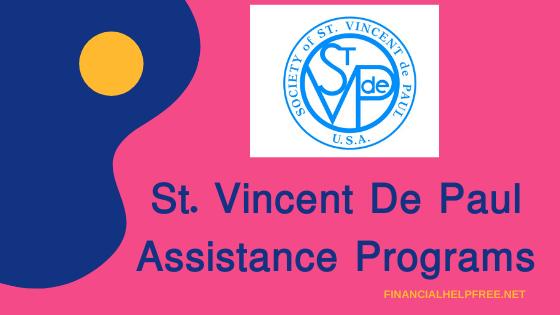 st. Vincent De Paul Assistance Programs