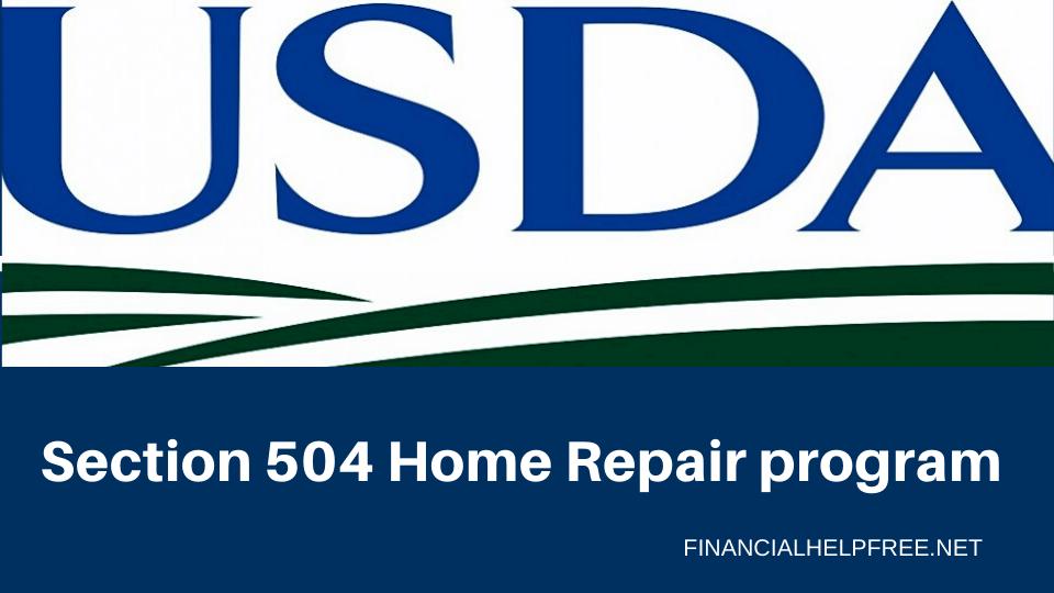 Section 504 Home Repair program