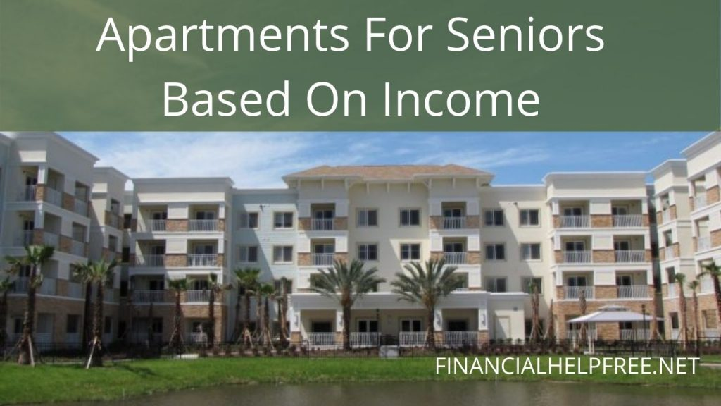 apartments for seniors based on income